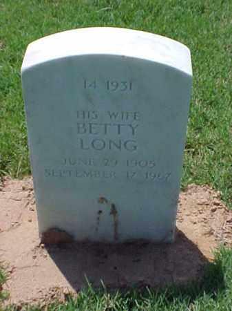 LONG CARROLL, BETTY - Pulaski County, Arkansas | BETTY LONG CARROLL - Arkansas Gravestone Photos