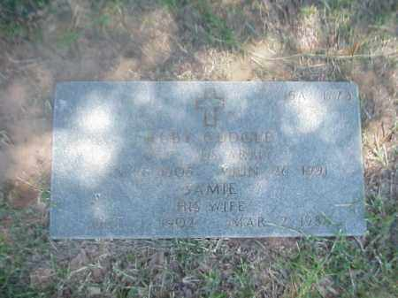 CUDGLE (VETERAN WWII), RUBY - Pulaski County, Arkansas | RUBY CUDGLE (VETERAN WWII) - Arkansas Gravestone Photos