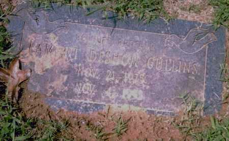 CULLINS, LAMONT  DESHON - Pulaski County, Arkansas | LAMONT  DESHON CULLINS - Arkansas Gravestone Photos