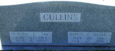CULLINS HEGARTY, MARION - Pulaski County, Arkansas | MARION CULLINS HEGARTY - Arkansas Gravestone Photos