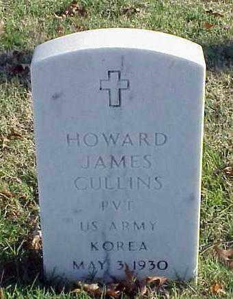 CULLINS (VETERAN KOR), HOWARD JAMES - Pulaski County, Arkansas   HOWARD JAMES CULLINS (VETERAN KOR) - Arkansas Gravestone Photos