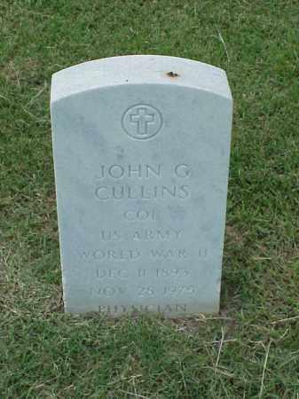 CULLINS (VETERAN WWII), JOHN G - Pulaski County, Arkansas | JOHN G CULLINS (VETERAN WWII) - Arkansas Gravestone Photos