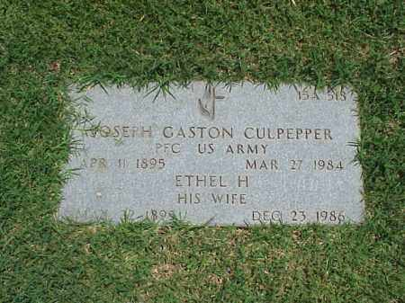 CULPEPPER, ETHEL H - Pulaski County, Arkansas | ETHEL H CULPEPPER - Arkansas Gravestone Photos
