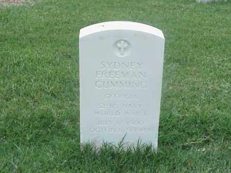 CUMMING (VETERAN WWI), SYDNEY FREEMAN - Pulaski County, Arkansas | SYDNEY FREEMAN CUMMING (VETERAN WWI) - Arkansas Gravestone Photos