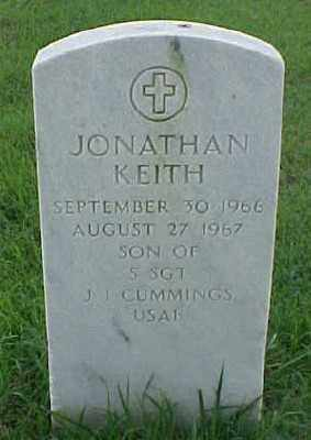 CUMMINGS, JONATHAN KEITH - Pulaski County, Arkansas | JONATHAN KEITH CUMMINGS - Arkansas Gravestone Photos