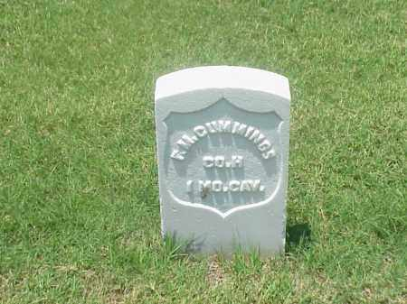 CUMMINGS (VETERAN UNION), FRANCIS M - Pulaski County, Arkansas | FRANCIS M CUMMINGS (VETERAN UNION) - Arkansas Gravestone Photos