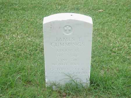 CUMMINGS (VETERAN WWII), JAMES T - Pulaski County, Arkansas | JAMES T CUMMINGS (VETERAN WWII) - Arkansas Gravestone Photos