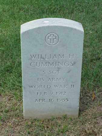 CUMMINGS (VETERAN WWII), WILLIAM H - Pulaski County, Arkansas | WILLIAM H CUMMINGS (VETERAN WWII) - Arkansas Gravestone Photos