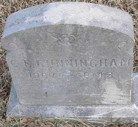 CUNNINGHAM, C E - Pulaski County, Arkansas | C E CUNNINGHAM - Arkansas Gravestone Photos