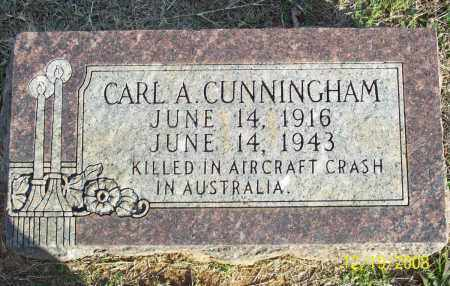 CUNNINGHAM, CARL A - Pulaski County, Arkansas | CARL A CUNNINGHAM - Arkansas Gravestone Photos