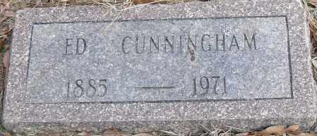 CUNNINGHAM, ED - Pulaski County, Arkansas | ED CUNNINGHAM - Arkansas Gravestone Photos