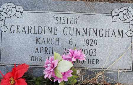 CUNNINGHAM, GERALDINE - Pulaski County, Arkansas | GERALDINE CUNNINGHAM - Arkansas Gravestone Photos