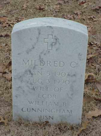 CUNNINGHAM, MILDRED C - Pulaski County, Arkansas | MILDRED C CUNNINGHAM - Arkansas Gravestone Photos