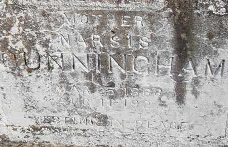 CUNNINGHAM, NARSIS - Pulaski County, Arkansas | NARSIS CUNNINGHAM - Arkansas Gravestone Photos