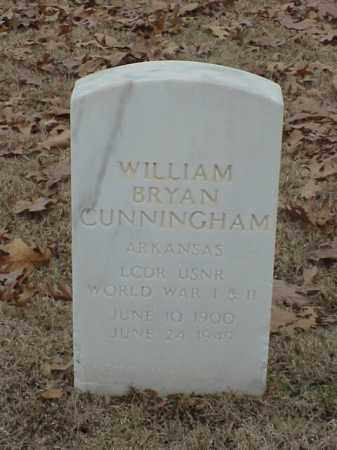 CUNNINGHAM (VETERAN 2 WARS), WILLIAM BRYAN - Pulaski County, Arkansas | WILLIAM BRYAN CUNNINGHAM (VETERAN 2 WARS) - Arkansas Gravestone Photos