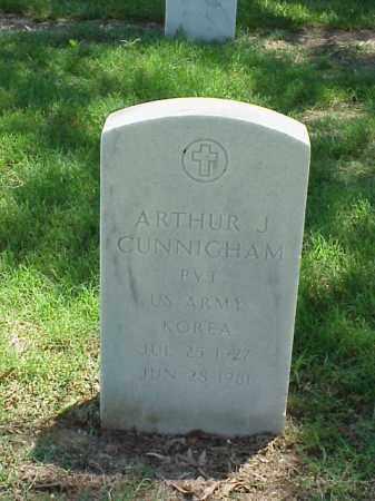 CUNNINGHAM (VETERAN KOR), ARTHUR J - Pulaski County, Arkansas | ARTHUR J CUNNINGHAM (VETERAN KOR) - Arkansas Gravestone Photos