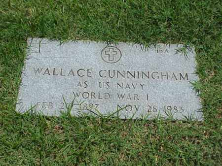 CUNNINGHAM (VETERAN WWI), WALLACE - Pulaski County, Arkansas | WALLACE CUNNINGHAM (VETERAN WWI) - Arkansas Gravestone Photos