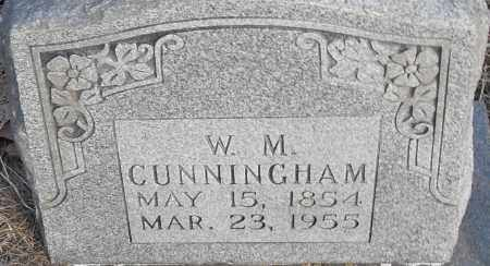 CUNNINGHAM, W M - Pulaski County, Arkansas | W M CUNNINGHAM - Arkansas Gravestone Photos