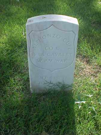 CUPP (VETERAN SAW), ALPHONZO - Pulaski County, Arkansas | ALPHONZO CUPP (VETERAN SAW) - Arkansas Gravestone Photos