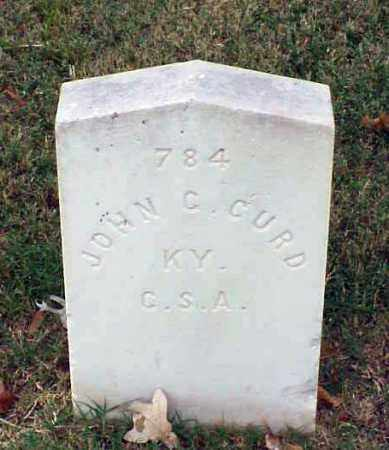 CURD (VETERAN CSA), JOHN C - Pulaski County, Arkansas | JOHN C CURD (VETERAN CSA) - Arkansas Gravestone Photos