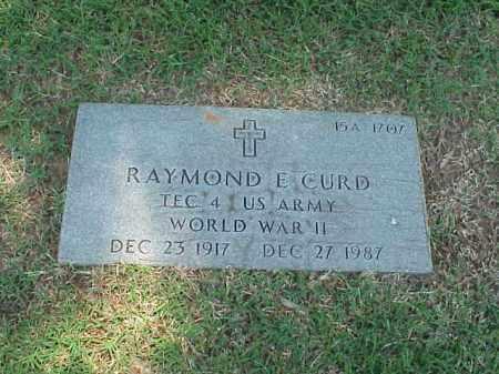 CURD (VETERAN WWII), RAYMOND E - Pulaski County, Arkansas | RAYMOND E CURD (VETERAN WWII) - Arkansas Gravestone Photos