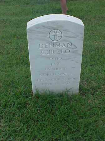 CURELO (VETERAN WWI), DENMAN - Pulaski County, Arkansas | DENMAN CURELO (VETERAN WWI) - Arkansas Gravestone Photos