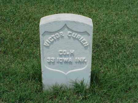 CURIER (VETERAN UNION), VICTOR - Pulaski County, Arkansas | VICTOR CURIER (VETERAN UNION) - Arkansas Gravestone Photos
