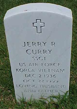 CURRY (VETERAN 2 WARS), JERRY R - Pulaski County, Arkansas | JERRY R CURRY (VETERAN 2 WARS) - Arkansas Gravestone Photos