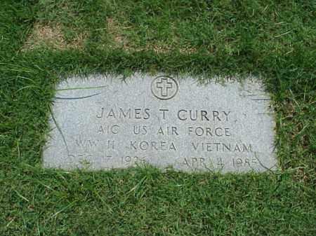 CURRY (VETERAN 3 WARS), JAMES T - Pulaski County, Arkansas | JAMES T CURRY (VETERAN 3 WARS) - Arkansas Gravestone Photos
