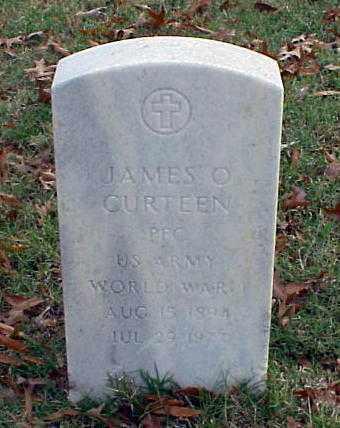 CURTEEN (VETERAN WWI), JAMES O - Pulaski County, Arkansas | JAMES O CURTEEN (VETERAN WWI) - Arkansas Gravestone Photos