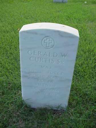 CURTIS SR (VETERAN 3 WARS), GERALD W - Pulaski County, Arkansas   GERALD W CURTIS SR (VETERAN 3 WARS) - Arkansas Gravestone Photos