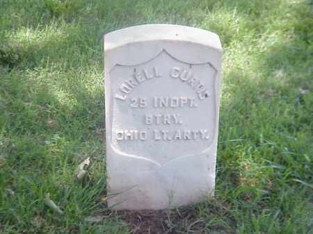 CURTIS (VETERAN UNION), LORELL - Pulaski County, Arkansas | LORELL CURTIS (VETERAN UNION) - Arkansas Gravestone Photos