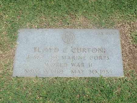 CURTON (VETERAN WWII), FLOYD C - Pulaski County, Arkansas | FLOYD C CURTON (VETERAN WWII) - Arkansas Gravestone Photos