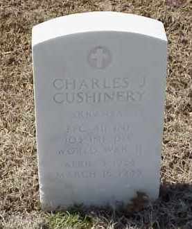 CUSHINERY  (VETERAN WWII), CHARLES J - Pulaski County, Arkansas | CHARLES J CUSHINERY  (VETERAN WWII) - Arkansas Gravestone Photos