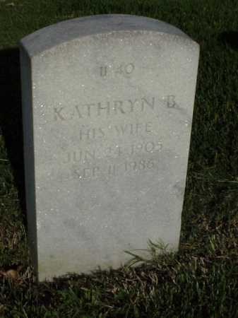 CUSTER, KATHRYN B - Pulaski County, Arkansas | KATHRYN B CUSTER - Arkansas Gravestone Photos