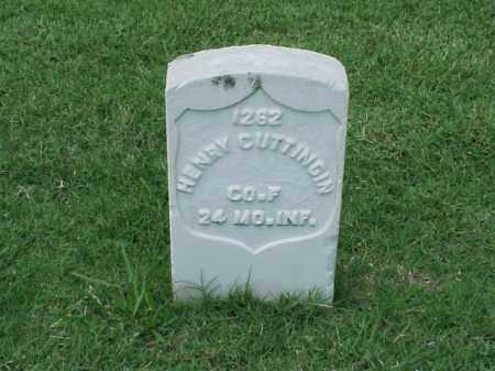 CUTTINGIN (VETERAN UNION), HENRY - Pulaski County, Arkansas | HENRY CUTTINGIN (VETERAN UNION) - Arkansas Gravestone Photos