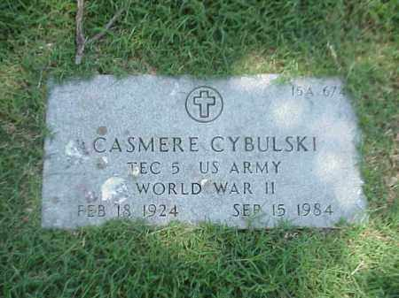CYBULSKI (VETERAN WWII), CASMERE - Pulaski County, Arkansas | CASMERE CYBULSKI (VETERAN WWII) - Arkansas Gravestone Photos