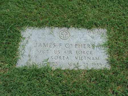 CYPHERS (VETERAN 3 WARS), JAMES F - Pulaski County, Arkansas | JAMES F CYPHERS (VETERAN 3 WARS) - Arkansas Gravestone Photos