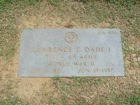 DADE (VETERAN WWII), LAWRENCE C - Pulaski County, Arkansas | LAWRENCE C DADE (VETERAN WWII) - Arkansas Gravestone Photos