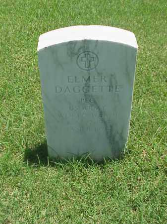 DAGGETTE (VETERAN WWII), ELMER - Pulaski County, Arkansas | ELMER DAGGETTE (VETERAN WWII) - Arkansas Gravestone Photos