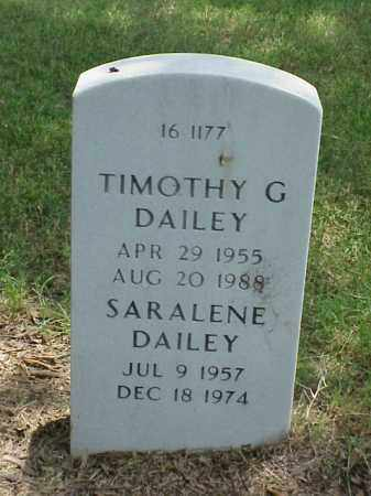 DAILEY, TIMOTHY G - Pulaski County, Arkansas | TIMOTHY G DAILEY - Arkansas Gravestone Photos