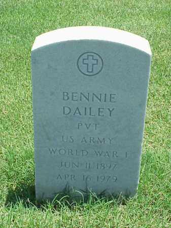 DAILEY (VETERAN WWI), BENNIE - Pulaski County, Arkansas | BENNIE DAILEY (VETERAN WWI) - Arkansas Gravestone Photos