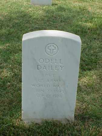 DAILEY (VETERAN WWI), ODELL - Pulaski County, Arkansas | ODELL DAILEY (VETERAN WWI) - Arkansas Gravestone Photos