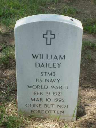 DAILEY (VETERAN WWII), WILLIAM - Pulaski County, Arkansas | WILLIAM DAILEY (VETERAN WWII) - Arkansas Gravestone Photos