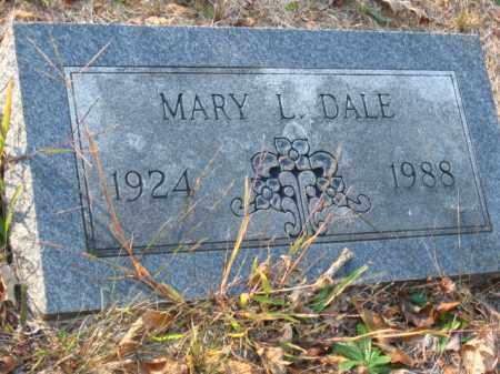 DALE, MARY L - Pulaski County, Arkansas | MARY L DALE - Arkansas Gravestone Photos
