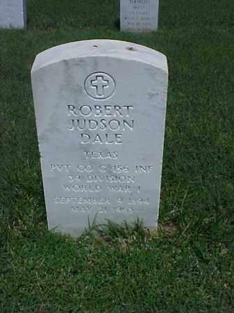 DALE (VETERAN WWI), ROBERT JUDSON - Pulaski County, Arkansas | ROBERT JUDSON DALE (VETERAN WWI) - Arkansas Gravestone Photos