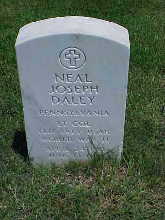 DALEY (VETERAN WWII), NEAL JOSEPH - Pulaski County, Arkansas | NEAL JOSEPH DALEY (VETERAN WWII) - Arkansas Gravestone Photos