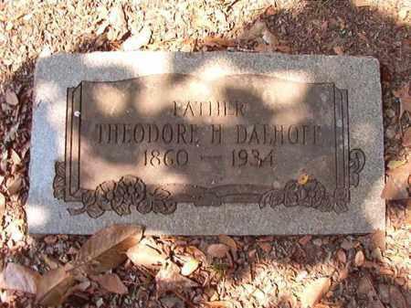 DALHOFF, THEODORE H - Pulaski County, Arkansas | THEODORE H DALHOFF - Arkansas Gravestone Photos
