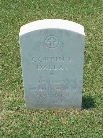 DALLAS (VETERAN WWII), CORBIN L - Pulaski County, Arkansas | CORBIN L DALLAS (VETERAN WWII) - Arkansas Gravestone Photos