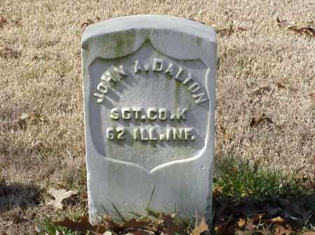 DALTON (VETERAN UNION), JOHN A - Pulaski County, Arkansas | JOHN A DALTON (VETERAN UNION) - Arkansas Gravestone Photos
